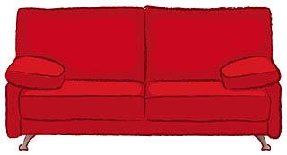 あぁ憧れのソファーベッド