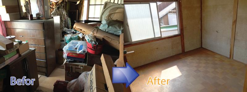 神戸市,芦屋市,西宮市,明石市,三木市,加古川市で遺品整理や不用品回収の事ならお任せください