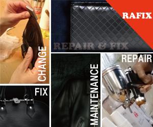 神戸市で鞄修理・サイフ修理の事ならRAFIX兵庫